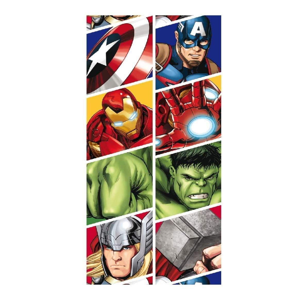 takestop Serviette Serviette Avengers Disney Enfant Enfants Super H/éros Hulk Iron Man Captain Am/érique Thor Multi-usages mer Lit coprilettino Piscine Plage 70/x 140/cm Rapide /à s/écher Easy Dry