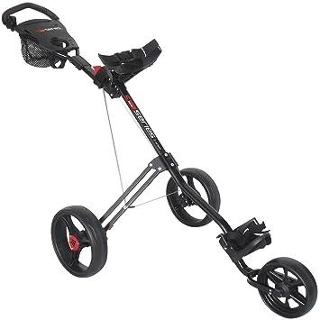 Masters 5 Series - Carrito de golf con 3 ruedas, color negro: Amazon.es: Deportes y aire libre