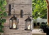 Metall Wandlaterne von SIDCO ® - Antiker Kerzenhalter