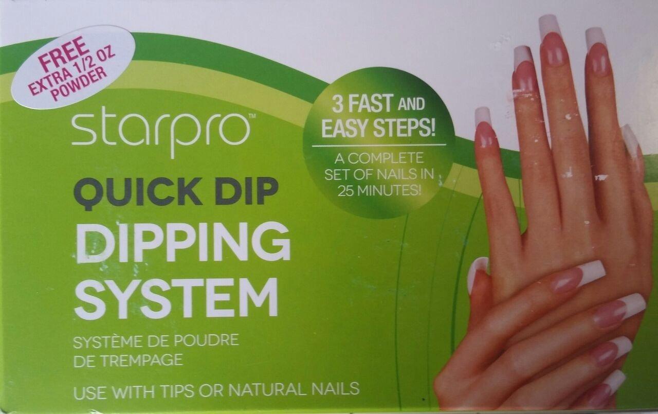 Amazon.com: Starpro Quick Dip Dipping 3 Step Acrylic Nail System: Beauty