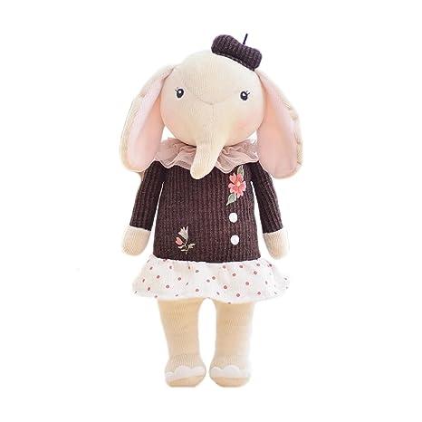 Amazon.com: Lovely bordado 3d juguetes de peluche vestido de ...