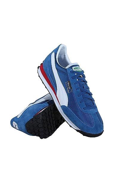 Puma Mens Easy Rider Sportstyle Shoes True Blue Puma White