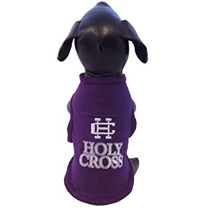 XX-Large NCAA Holy Cross Crusaders Cotton Lycra Dog Tank Top