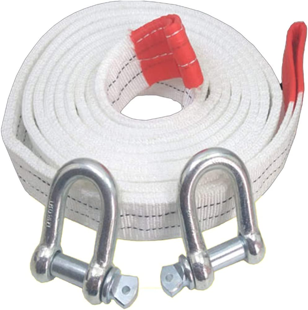 Adecuado para autom/óviles peque/ños//SUV//veh/ículos Todo Terreno//situaciones de Emergencia Alta Resistencia Cuerdas de Remolque de Alta Resistencia Carga m/áxima de Cuerda de Remolque para autom/óviles