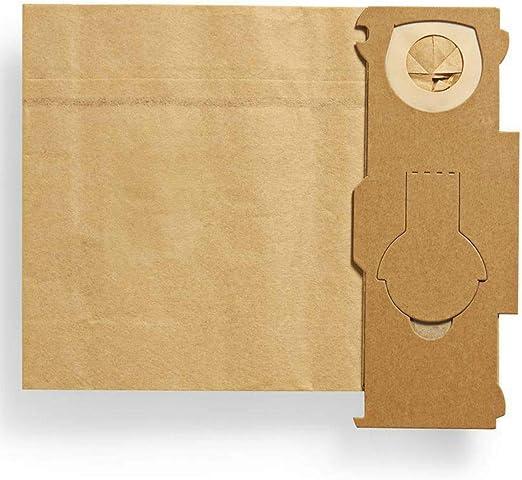Maxorado - 50 bolsas de filtro para aspiradoras Vorwerk Kobold VK ...