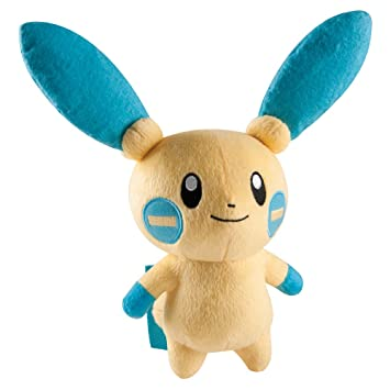 "Pokemon ""minun – Peluche (20,3), color blanco"