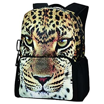 Best Travel Backpack,Bistar Galaxy Leopard Teenager Backpack 3D ...