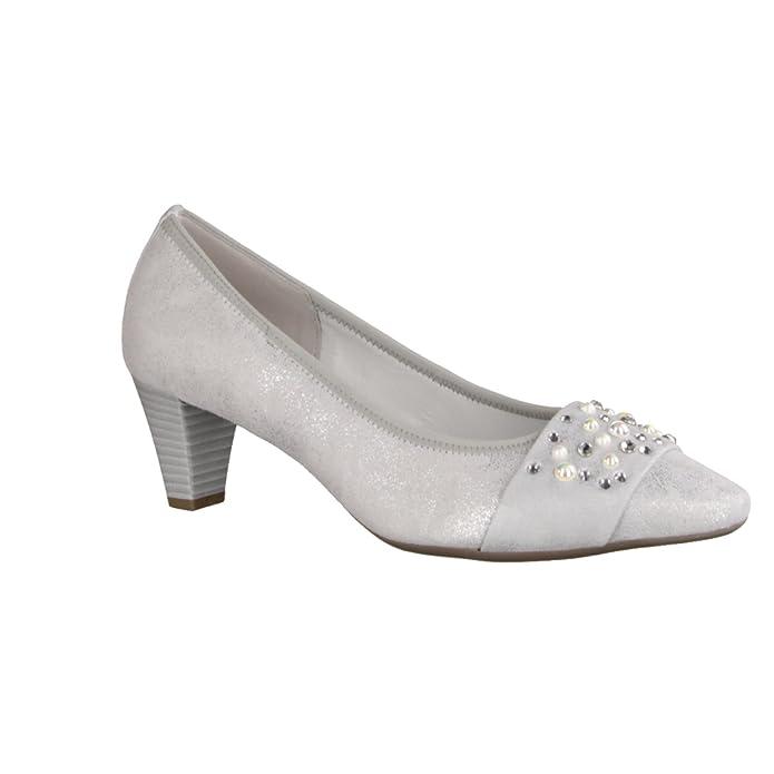 Femme Chaussures Pour Escarpins Gris Sacs Et Gabor qx14gwE