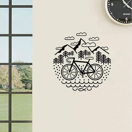 Pegatinas De Pared Para Bicicletas Y Montañas Ciclismo Grava ...