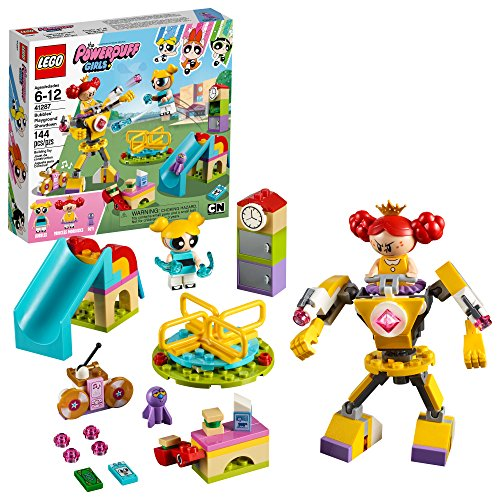 LEGO The Powerpuff Girls Bubbles' Playground Showdown 41287 Building Kit (144 Piece) -