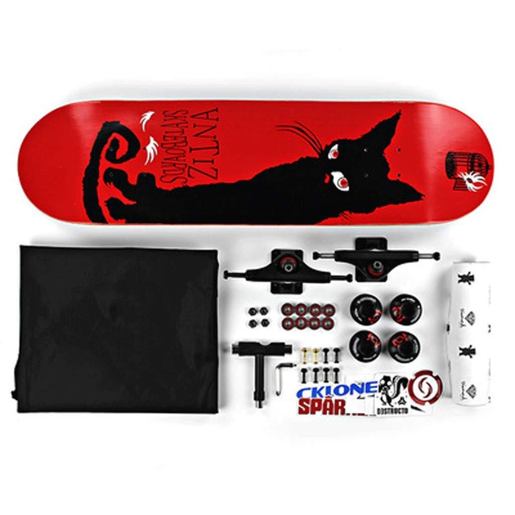 アンマーショップ エクストリームバイラテラル傾斜スケートボード大人の子供の男性と女性四輪ステップスケートボード初心者のアセンブリプロスケートボード B07L3SC68Z Cat) : (色 : Cat) B07L3SC68Z Cat, Blue Mermaid:1cefbc9d --- a0267596.xsph.ru