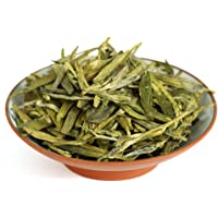GOARTEA 250g (8.8 Oz) Organic West Lake Xihu Long Jing Longjing Dragon Well Spring Loose Leaf Green Tea