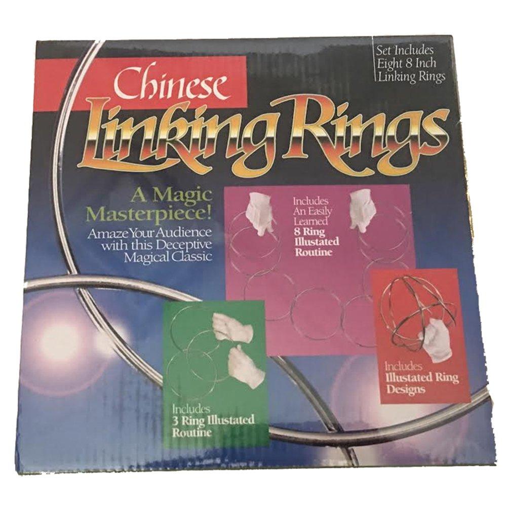 Cinese anelli cromati (da 8 a 20 cm) - Gioco di Magia