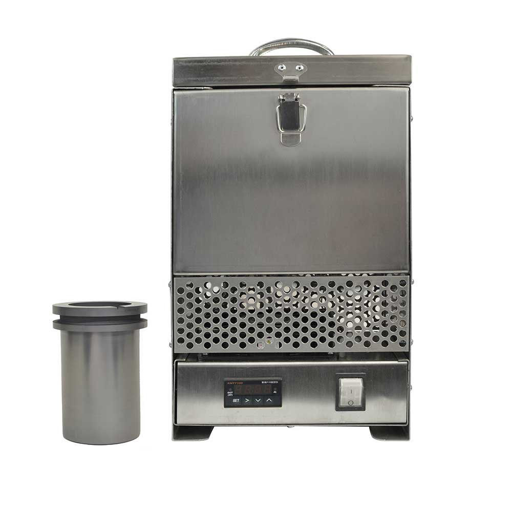 Hardin HD-2344SS Stainless Steel Tabletop Melting Furnace with 4 Kilogram Crucible 110 Volt by Hardin (Image #2)