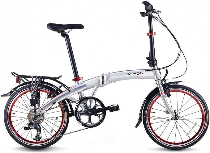 MU D8-Bicicleta plegable aluminio: Amazon.es: Deportes y aire libre