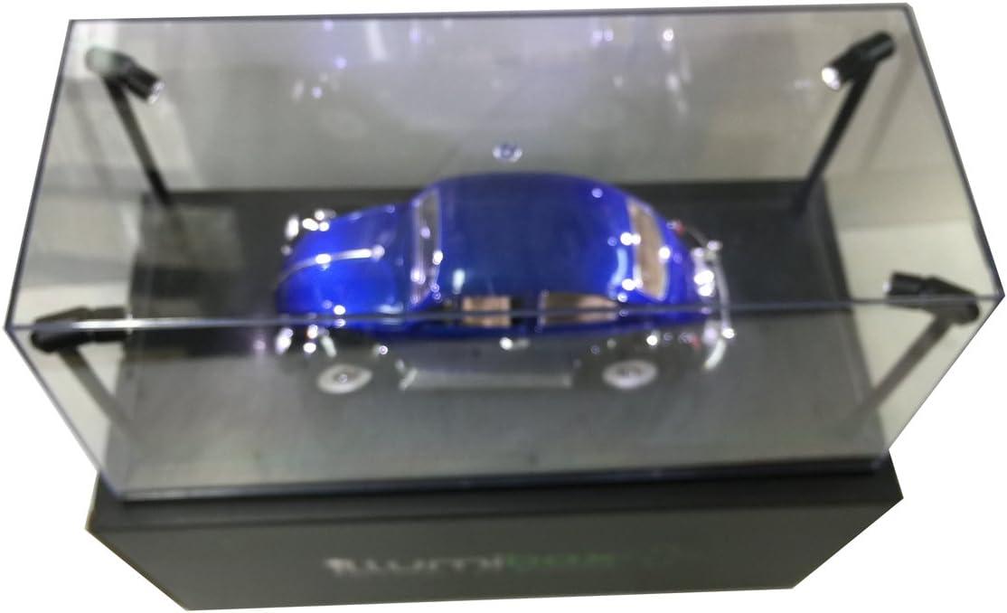 USB Powered Led Black Base Display 18 x Illumibox MJ14001 Showcase 1 Clear