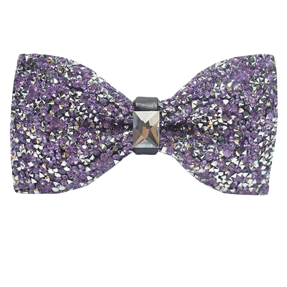 Mens Betterfly Multicolor Diamante Pretied/Bowtie Shining Cravat Wedding Party