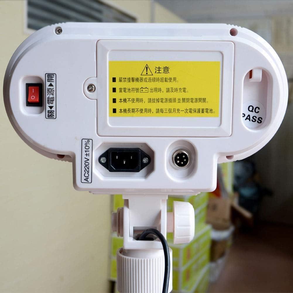 LYC Electronic Scale Foldable Platform Scale 110-220V Electronic Scale Digital Industrial Scale For Food Big Item Weighing (Color : 300kg/10g) 60kg/2g