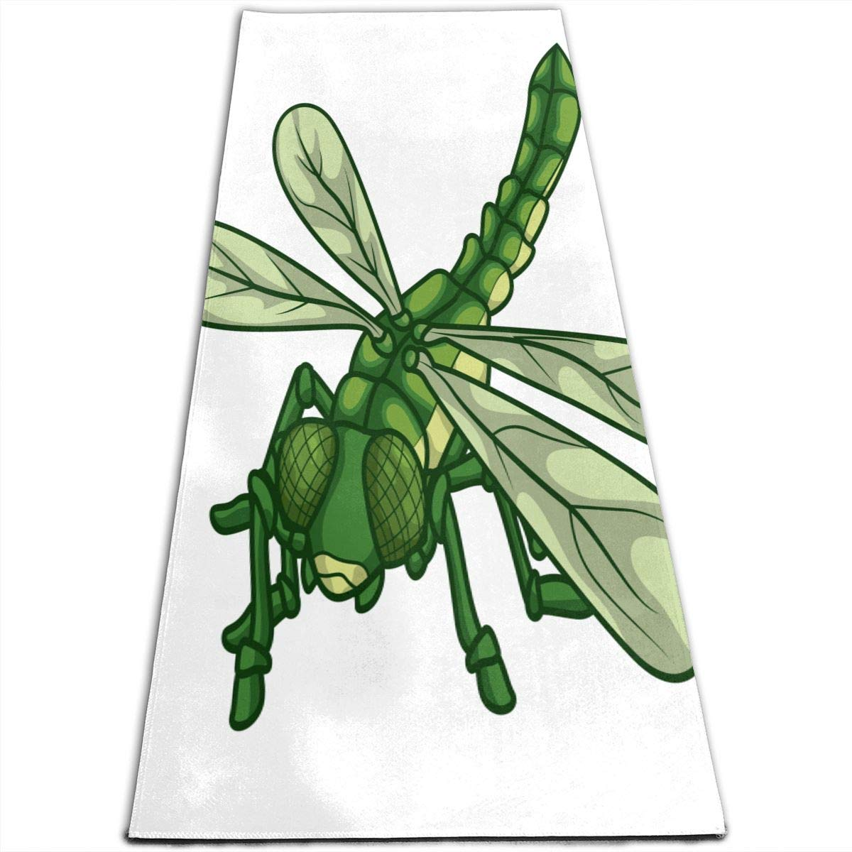 Amazon.com: Yoga Mat Dragonfly Special 1/4-Inch Thick Sports ...