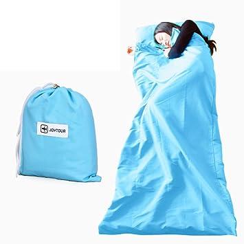 un sucio saco de dormir aislante/Viaje saco de dormir verde portátil/ viajar ligeros