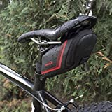 Ibera Bicycle Strap-on Bike Saddle Bag/Seat