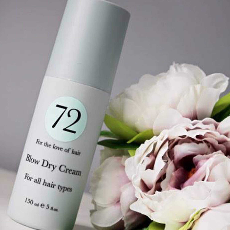 72 Hair Crema de secado 150 ml - Fórmula de protección contra el calor: Amazon.es: Belleza