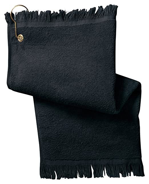 Yunque con flecos toalla de punta de los dedos, con esquina ojal y gancho: Amazon.es: Hogar
