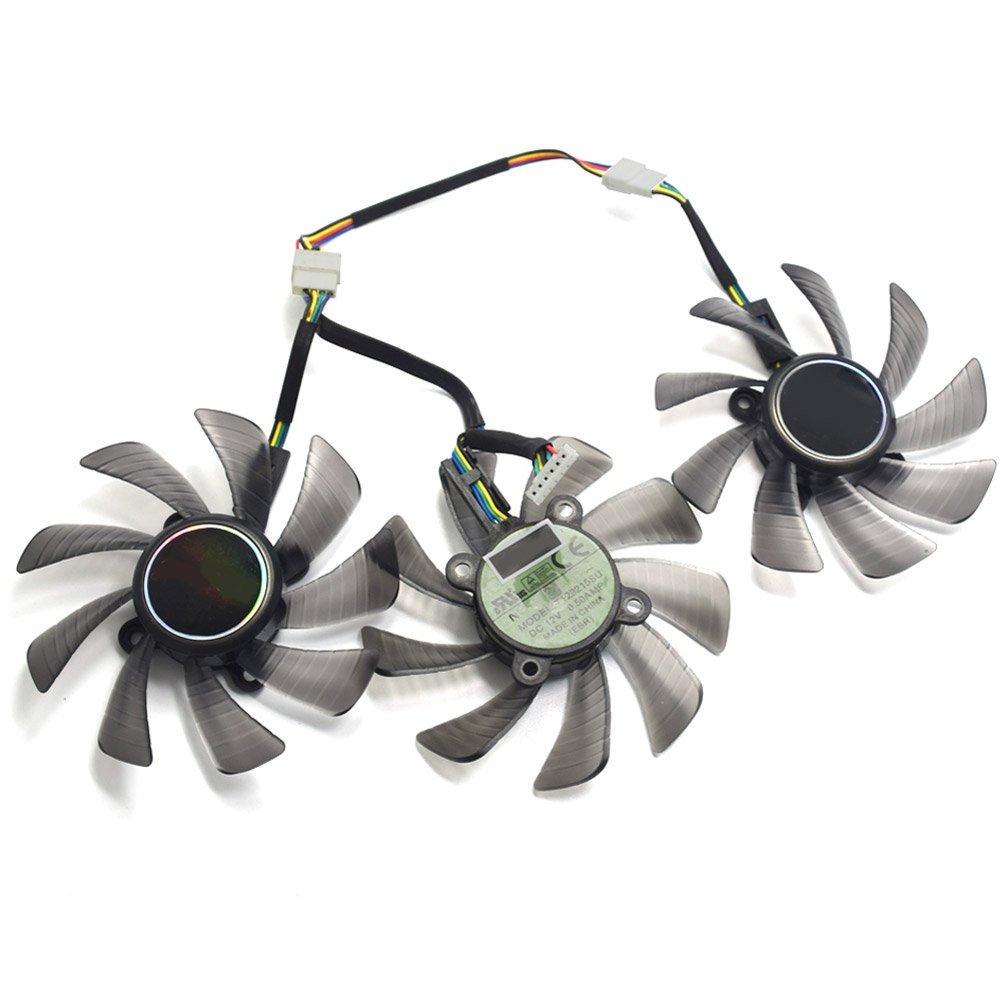 85MM T129215SU GTX 1060 1070 1080 RX470 RX 470 480 580 R9 390 GTX980Ti Fan For ASUS STRIX Raptor Fan by Z.N.Z (Image #3)