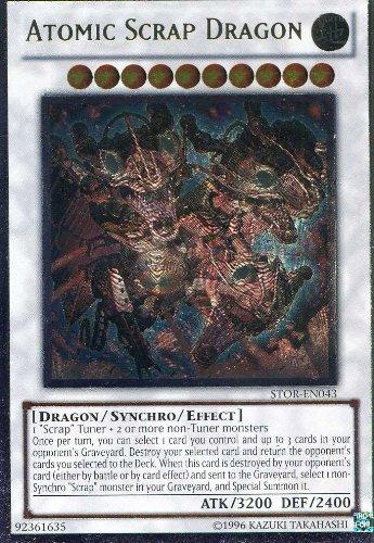 Yu-Gi-Oh! - Atomic Scrap Dragon (STOR-EN043) - Storm of Ragnarok - Unlimited Edition - Ultimate Rare B0062DVEXG