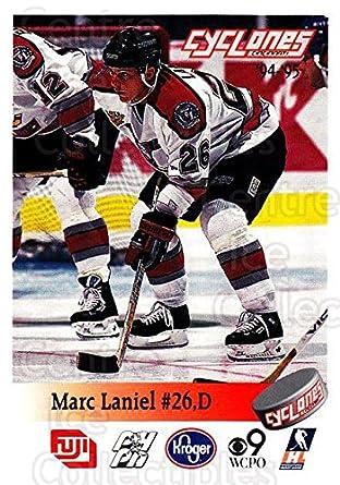 Amazon Com Ci Marc Laniel Hockey Card 1994 95 Cincinnati Cyclones