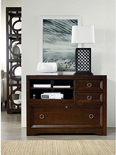 Hooker Furniture Kinsey Utility File Console in Walnut