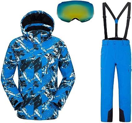 QZH Combinaison Ski Enfants Vestes et Pantalons