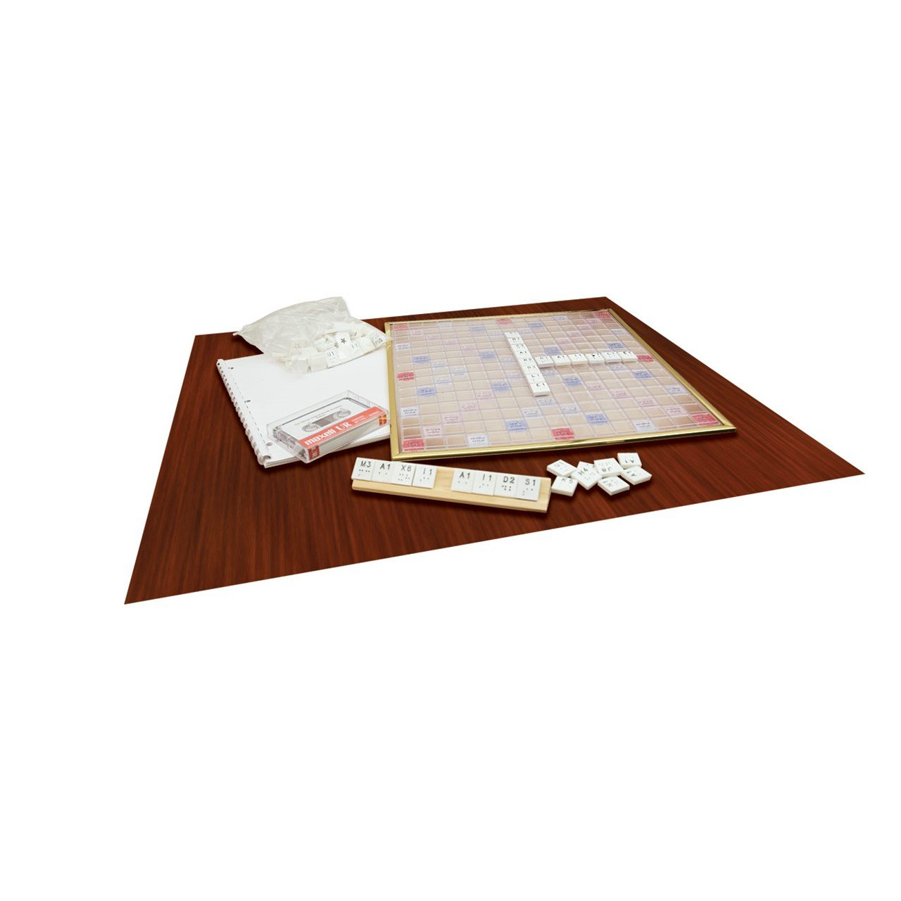 Deluxe Scrabble Game - Braille Version MaxiAids