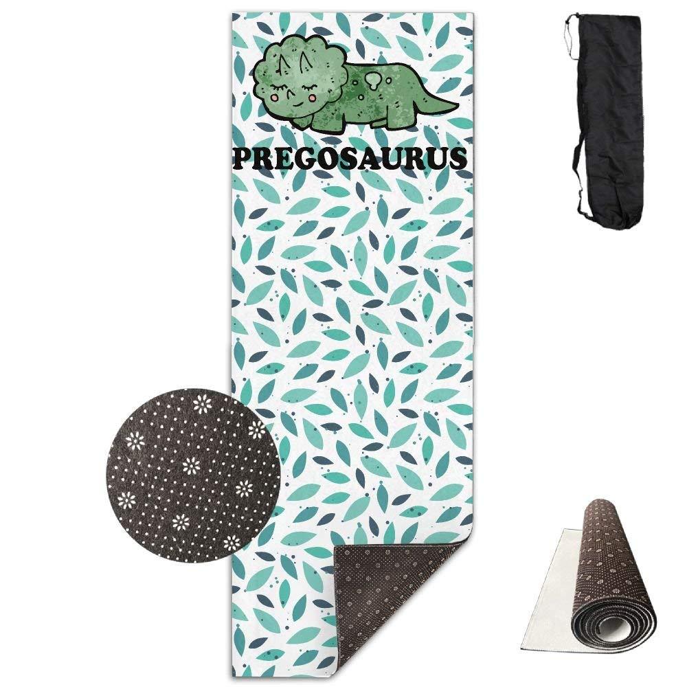Pregosaurus Logo Yoga Mat Towel for Bikram Hot Yoga, Yoga and Pilates, Paddle Board Yoga, Sports, Exercise, Fitness Towel