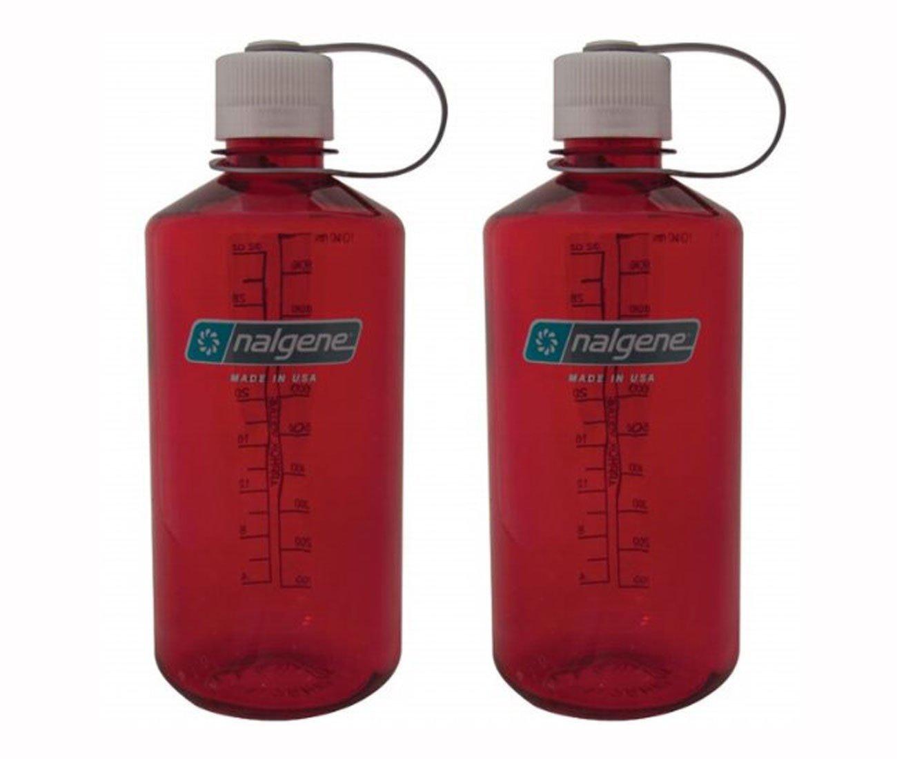 32oz Nalgene Tritan Narrow Mouth BPA-Free Water Bottle 1-Quart