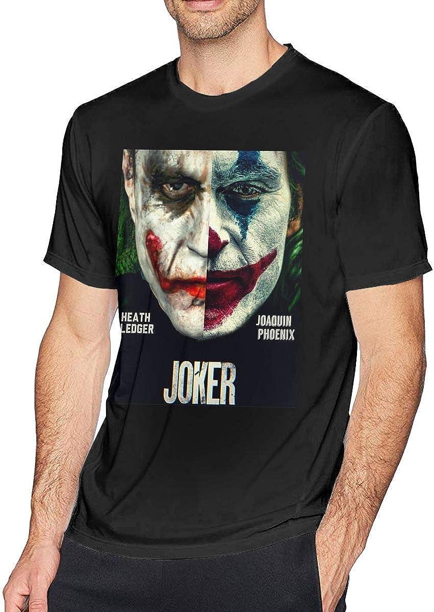 Wuyouhua Joker Joaquin Phoenix - Camiseta de manga corta para hombre, color negro Negro Negro (XL: Amazon.es: Ropa y accesorios