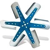 Flex-a-lite 1316 Blue Star Stainless Steel 6-Blade 16' Flex Fan
