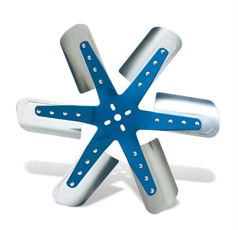 Flex A Lite 1318 Blue Star Stainless Steel 6 Blade 18 1 Flexalite Electric Fan Black Magic Series Coximportcom 4 Automotive