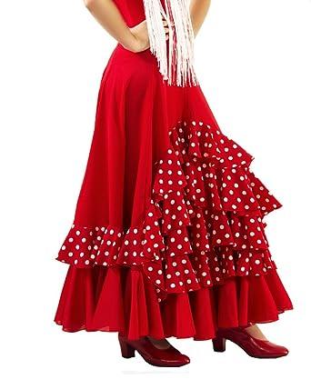 Falda de NIÑA para Baile Flamenco o sevillanas, Cinco ...