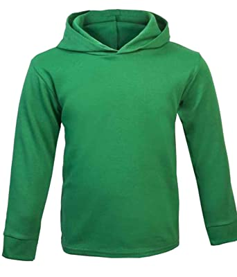 f4f6be29e838 ICKLE PEANUT Green Baby Plain Hoodie Baby Top Baby Boy Baby Girl ...