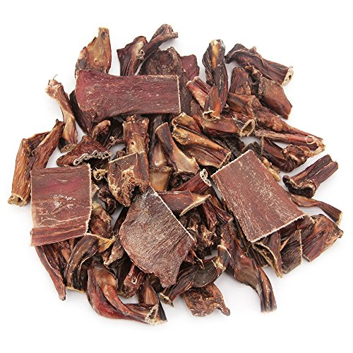 GigaBite Assorted Beef Gullet Jerky (1-Pound) – USDA & FDA Certified, All Natural, Free Range Beef Esophagus Taffy Dog Treat – By Best Pet Supplies