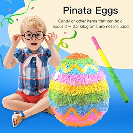 WXGY Piñata Huevos de Pascua Juegos de accesorios Candy ...