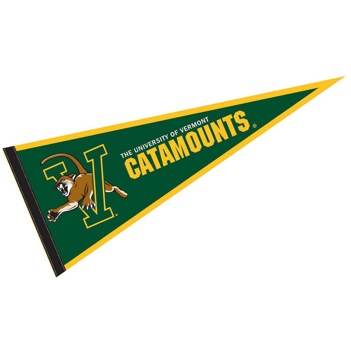 College Flags and Banners Co University of Vermont Pennant Full Size Felt