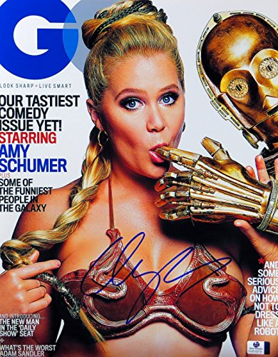 Amy Schumer Signed Autographed 11X14 Photo Train Wreck GQ Cover GV816373