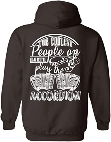 Cool Sweatshirt Hoodie Learn to Play Accordion Tee Shirt