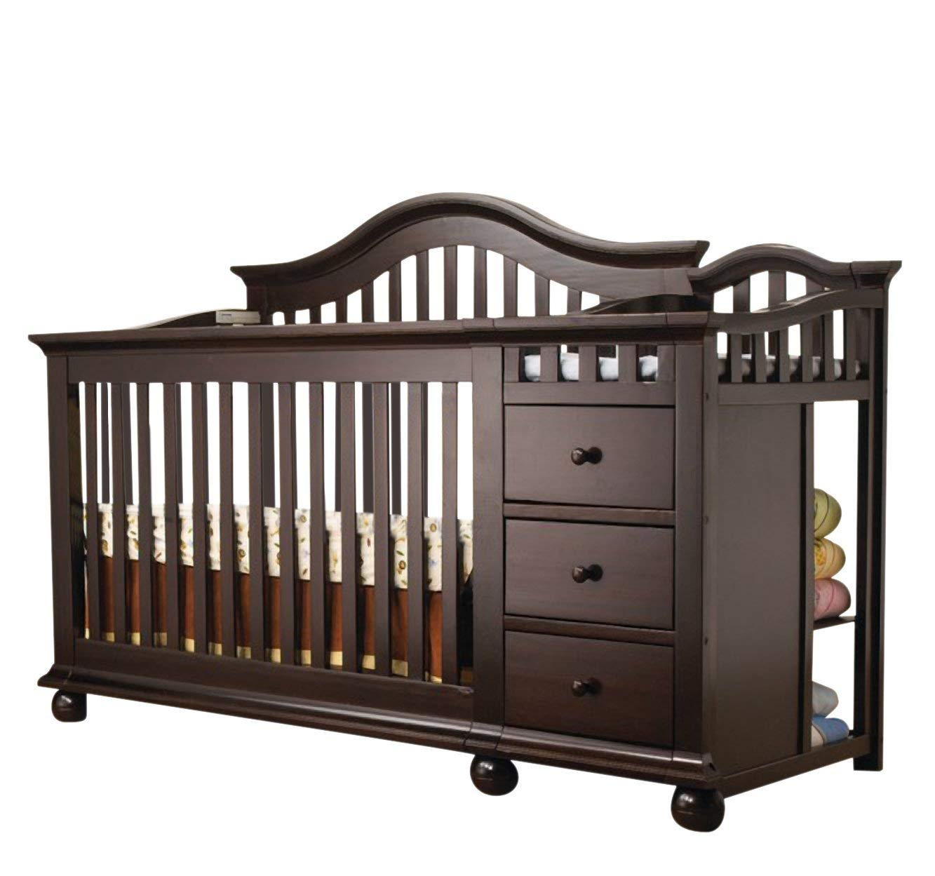 Amazon Com Sorelle Cape Cod Crib And Changer Espresso