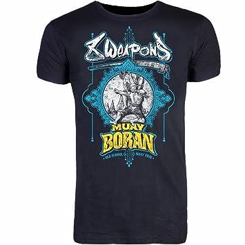 8 WEAPONS Muay Thai - Camiseta, Muay Boran: Amazon.es: Deportes y aire libre
