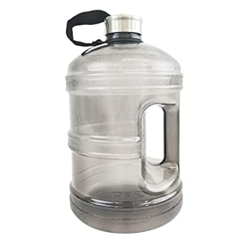 Amazon.com: Botella de agua con tapa de acero inoxidable de ...