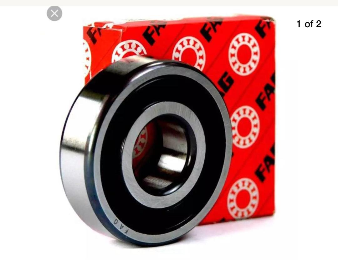 6306-2RS RS Ball Bearing Free Ship 30mm Sealed