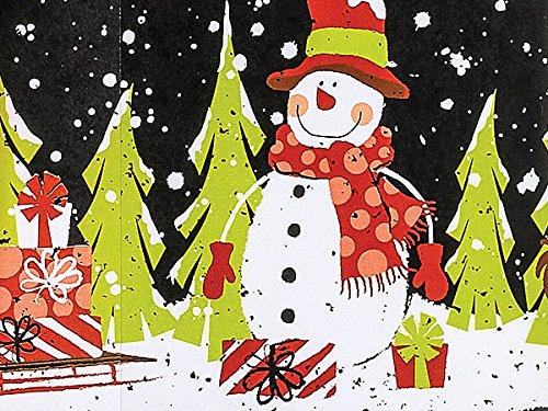 Chalkboard Snowman 24''x417' by Nas